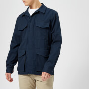PS by Paul Smith Men's Military Jacket - Blue - L - Blue