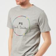 PS by Paul Smith Men's Regular Fit Circle Logo T-Shirt - Grey