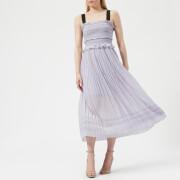 Three Floor Women's Blushin' Smock Bodice Dress - Lilac - UK 10 - Purple