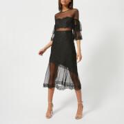 Three Floor Women's Deep Moon Lace Dress - Black - UK 10 - Black
