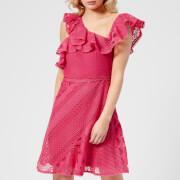 Three Floor Women's Forward Frill Dress - Camelia Rose - UK 10 - Pink