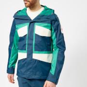 The North Face Men's Fantasy Ridge Jacket - Blue Wing Teal/Porcelain Green/Vintage White - L - Blue