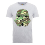 T-Shirt Homme Stormtrooper Camouflage - Star Wars - Gris