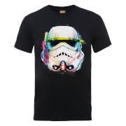 T-Shirt Homme Stormtrooper Paint Brush Art - Star Wars - Noir