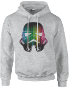 Sweat à Capuche Homme Vertical Lights Stormtrooper - Star Wars - Gris