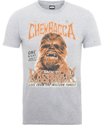 T-Shirt Homme Chewbacca One Night Only - Star Wars - Gris