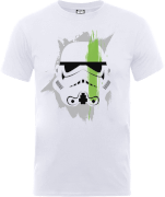Star Wars Paintstroke Stormtrooper T-Shirt - Weiß