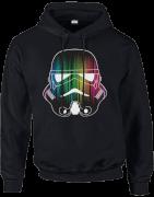 Star Wars Vertical Lights Stormtrooper Pullover Hoodie - Black