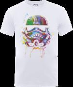 Star Wars Paint Splat Stormtrooper T-Shirt - White