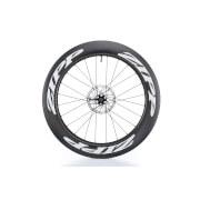 Zipp 808 Firecrest Carbon Clincher Tubeless Disc Brake Front Wheel – White Decals