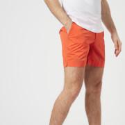 Orlebar Brown Men's Bulldog Sport Swim Shorts - Hazard Orange