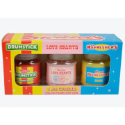 Swizzels Three Candle Gift Pack
