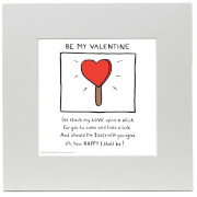 Edward Monkton Be My Valentine Print