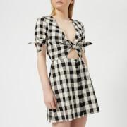 Bec & Bridge Women's Tartine Tie Dress - Check