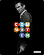 The Commuter: 4K Ultra HD - Zavvi Exclusive Limited Edition Steelbook