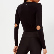 Pepper & Mayne Women's Long Sleeve Body - Pitch Black - UK 8 - Black