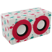 Intempo Mini Blaster Speaker - Flamingo