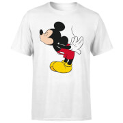 Disney Mickey Mouse Mickey Split Kiss T-Shirt - White