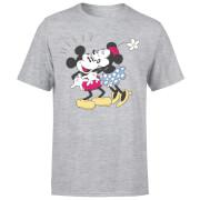 Disney Mickey Mouse Minnie Kiss T-Shirt - Grau