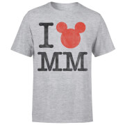 Disney Mickey Mouse I Heart MM T-Shirt - Grau