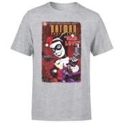 DC Comics Batman Harley Mad Love T-Shirt - Grey