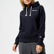 Champion Women's Classic Hoodie - Navy - L - Blue