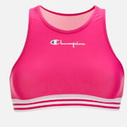 Pink Champion Women's Halter Neck Bikini Top