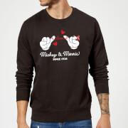 Sweat Homme Mickey Mouse et Minnie Depuis 1928 (Disney) - Noir