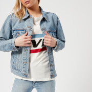 Levi's Women's Ex-Boyfriend Trucker Jacket - Indigo Anthem