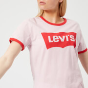 Levi's Women's Perfect Ringer T-Shirt - Batwing Light Lilac
