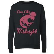 Disney Princess Midnight Women's Sweatshirt - Black