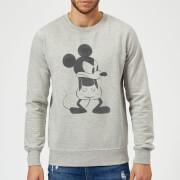 Disney Mickey Mouse Angry Sweatshirt - Grey
