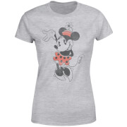 Disney Mickey Mouse Minnie Mouse Waving Frauen T-Shirt - Grau