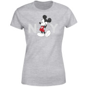 Disney Mickey Mouse NY Frauen T-Shirt - Grau