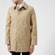 Aquascutum Men's Berkeley SB Raincoat - Camel - 38 /M - Beige