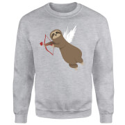 Sloth Cupid Sweatshirt - Grey