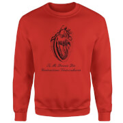 Premature Ventricular Contractions (FR) Pullover - Rot