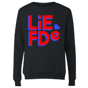 Liefde Block Women's Sweatshirt - Black