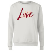 Love & Lust Women's Sweatshirt - White