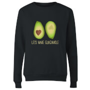 Lets Make Guacamole Women's Sweatshirt - Black