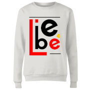 Liebe Block Women's Sweatshirt - White