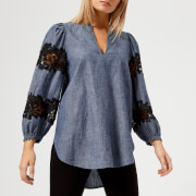See By Chloé Women's Denim Shirt - Blue - FR 34/UK 6 - Blue