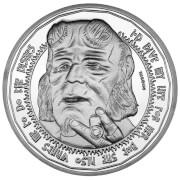 Pièce de Monnaie de Collection Hellboy - Édition Limitée Argentée