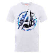 Marvel Avengers Assemble Flared T-Shirt - White