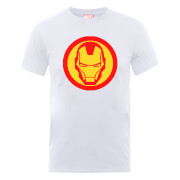 Marvel Avengers Assemble Iron Man Symbol Sweatshirt - White
