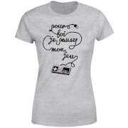 I'd Pause My Game For You (FR) Women's T-Shirt - Grey