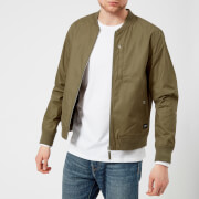 Edwin Men's Baller Bomber Jacket - Military Green - L - Green