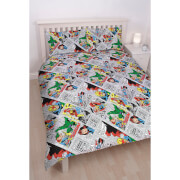 Marvel Comics Retro Duvet Set