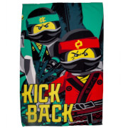 Lego Ninjago Movie Jungle Polar Fleece Blanket