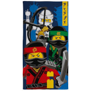 Lego Ninjago Movie Ninja Towel